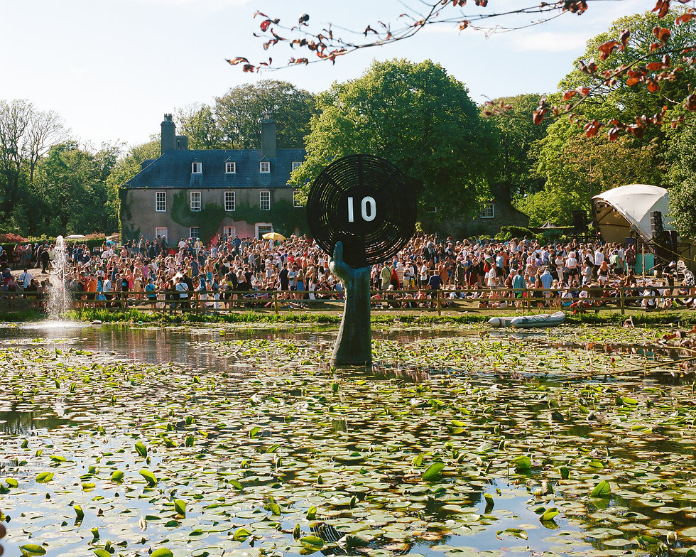 The lawn stage At Gottwood Festival. Events, Festival Anglesey, Music Photography. Photo taken by Rob Jones @hirobjones
