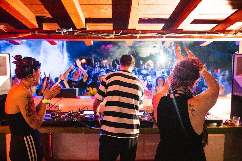 Shanti Celeste, Call Super & Saoirse at Barbarellas Discotheque At Love International Festival. Events, Festival Tisno, Music Photography. Photo taken by Rob Jones @hirobjones