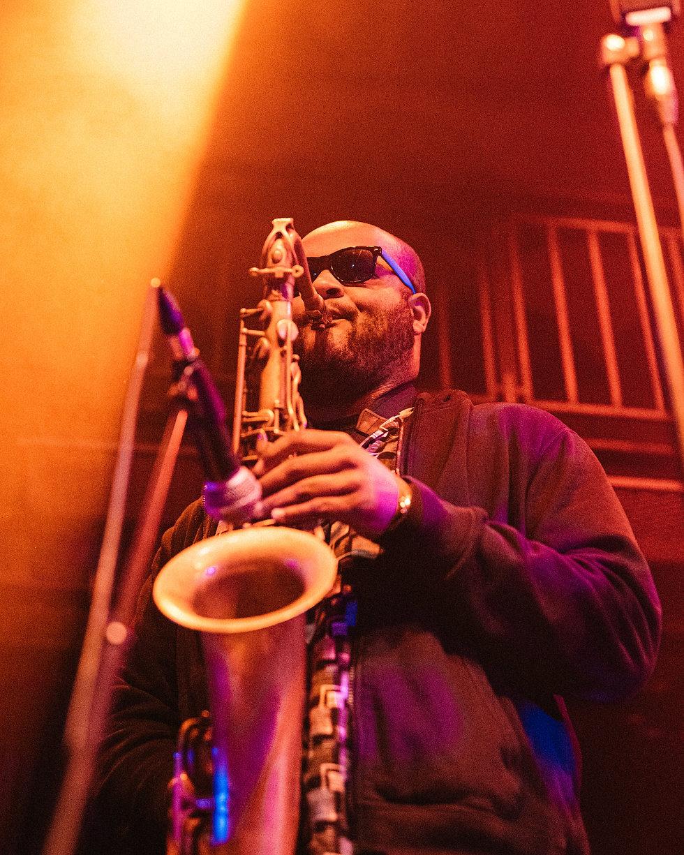 Butcher Brown At Jazz Cafe, Camden, London. Events, Live Music, Music Photography. Photo taken by Rob Jones @hirobjones