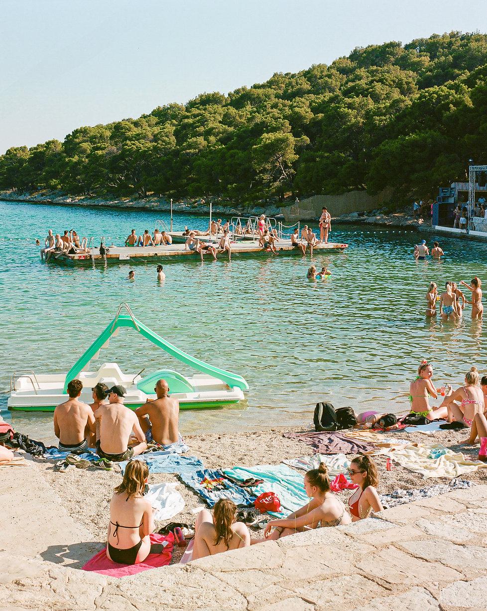 Boat party At Love International Festival. Events, Festival Tisno, Music Photography. Photo taken by Rob Jones @hirobjones