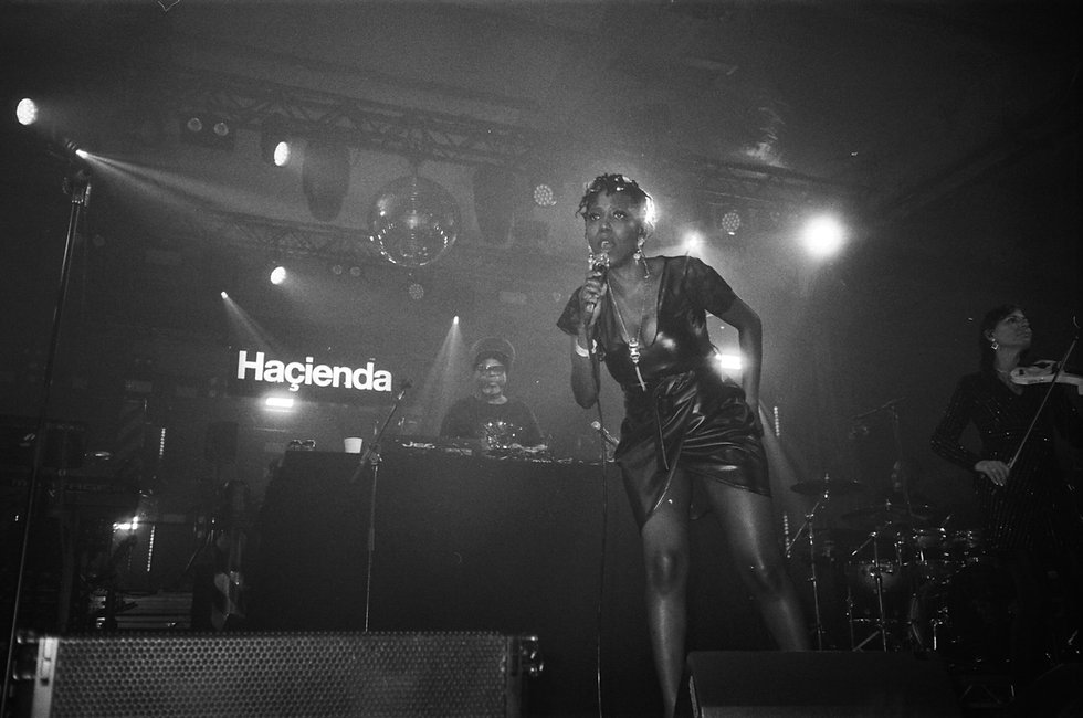 Soul II Sould Hacienda Classical DJ At Warehouse Project Depot Mayfield Manchester. Events, Music Photography. Photo taken by Rob Jones @hirobjones on 35mm film