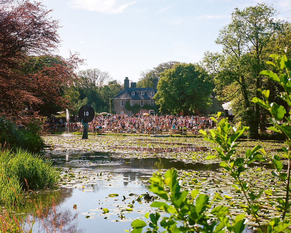 View of the Lawn stage At Gottwood Festival. Events, Festival Anglesey, Music Photography. Photo taken by Rob Jones @hirobjones