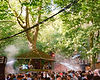 Treehouse stage At Gottwood Festival. Events, Festival Anglesey, Music Photography. Photo taken by Rob Jones @hirobjones