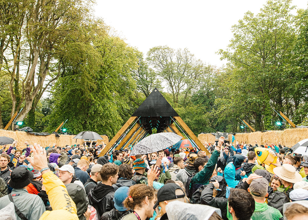 Trigon stage At Gottwood Festival. Events, Festival Anglesey, Music Photography. Photo taken by Rob Jones @hirobjones