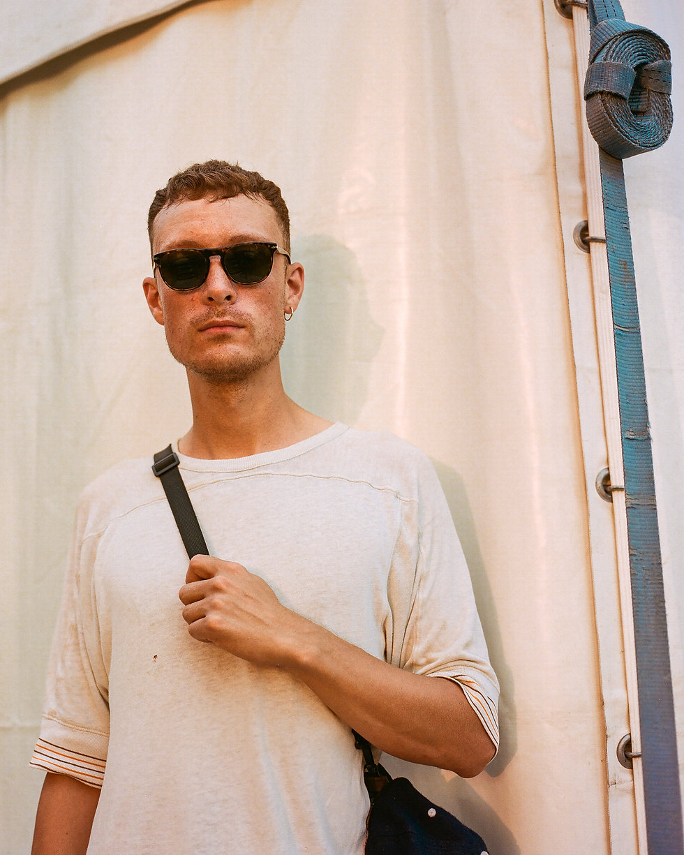 Fort Punta Christo Eliphino backstage At Dimensions & Outlook Festival. Events, Festival Pula, Croatia, Music Photography. Photo taken by Rob Jones @hirobjones