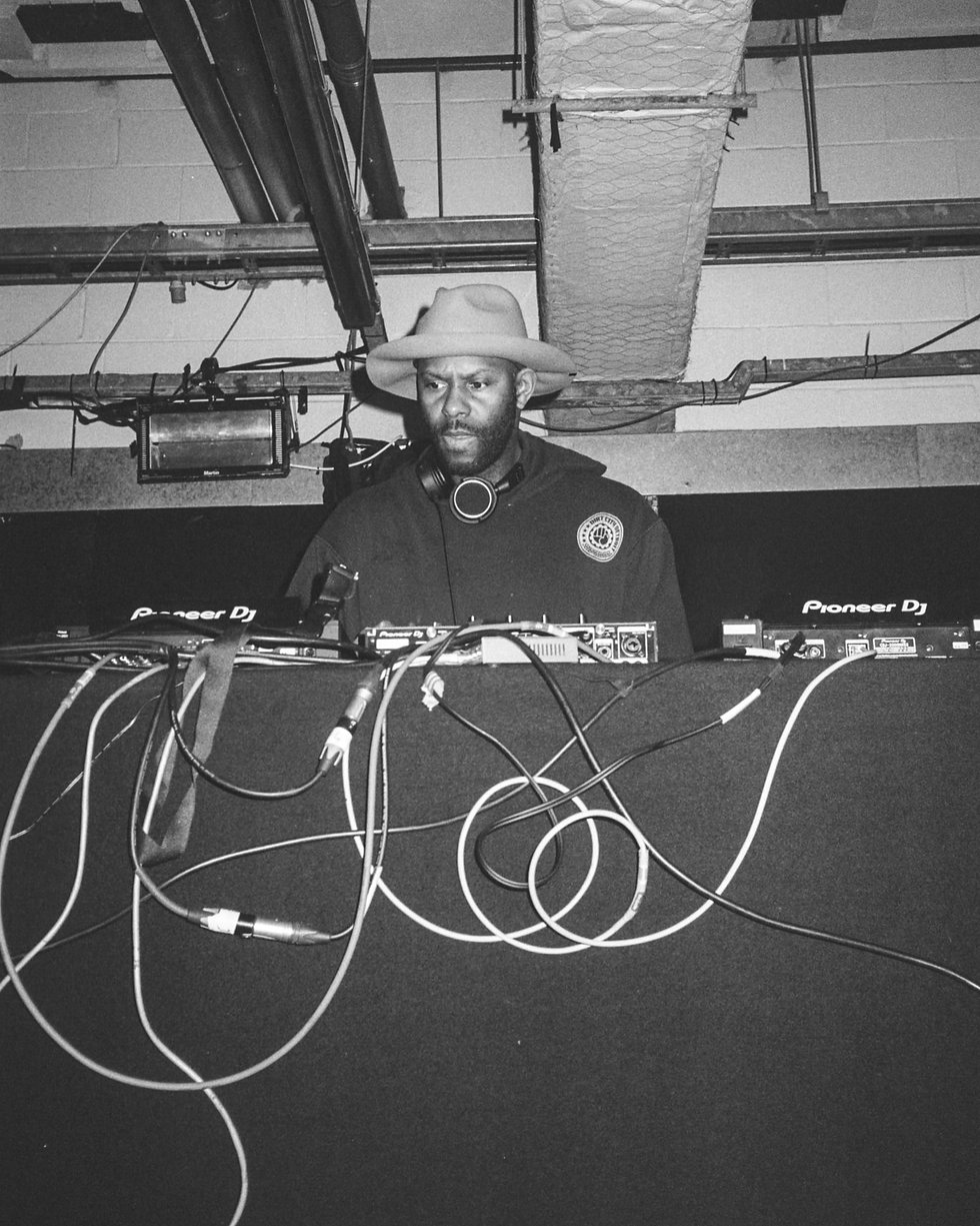 Wajeed at Printworks London Glitterbox Defected Records. Events, Music Photography. Photo taken by Rob Jones @hirobjones 35mm film