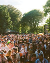 Crowds at the lawn stage At Gottwood Festival. Events, Festival Anglesey, Music Photography. Photo taken by Rob Jones @hirobjones