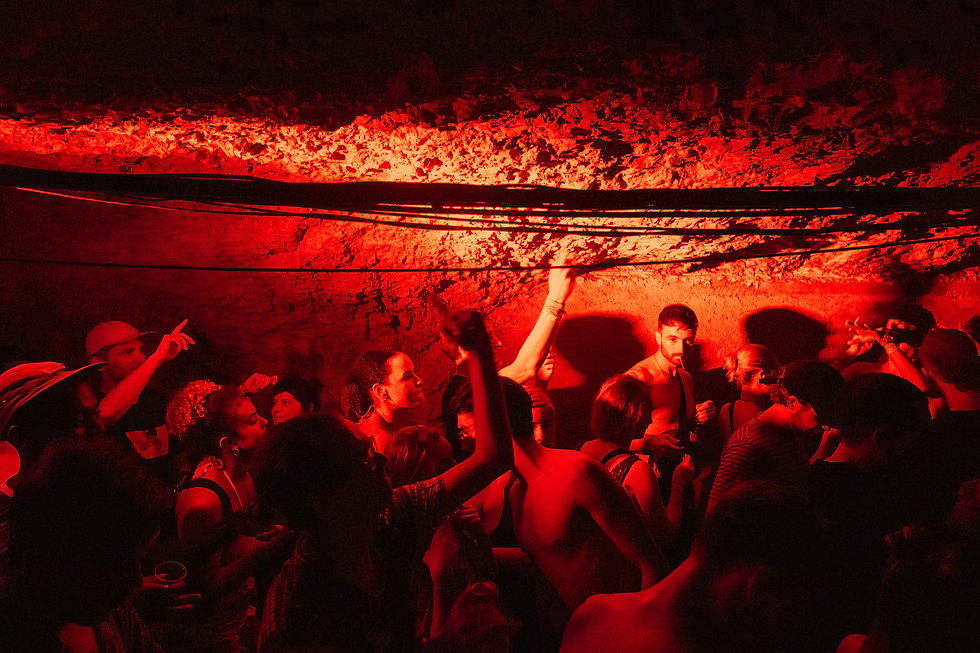 Fort Punta Christo Tunnel party At Dimensions & Outlook Festival. Events, Festival Pula, Croatia, Music Photography. Photo taken by Rob Jones @hirobjones