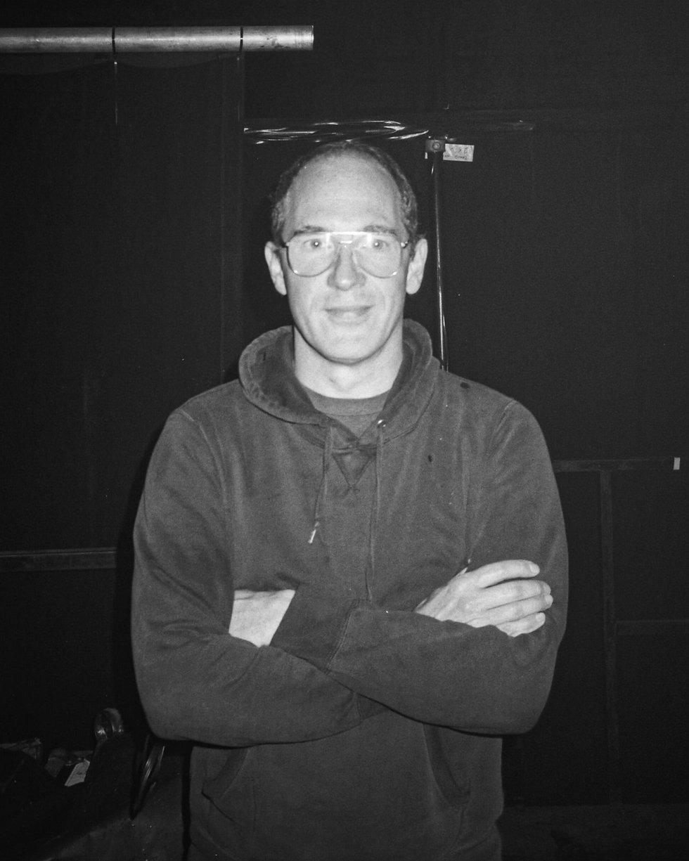 Caribou Dan Snaith DJ At Warehouse Project Depot Mayfield Manchester. Events, Music Photography. Photo taken by Rob Jones @hirobjones on 35mm film