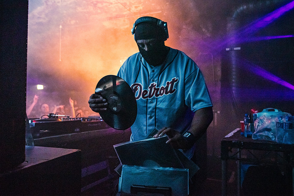 DJ Stingray at Warehouse Project Store Street Manchester. Events, Music Photography. Photo taken by Rob Jones @hirobjones
