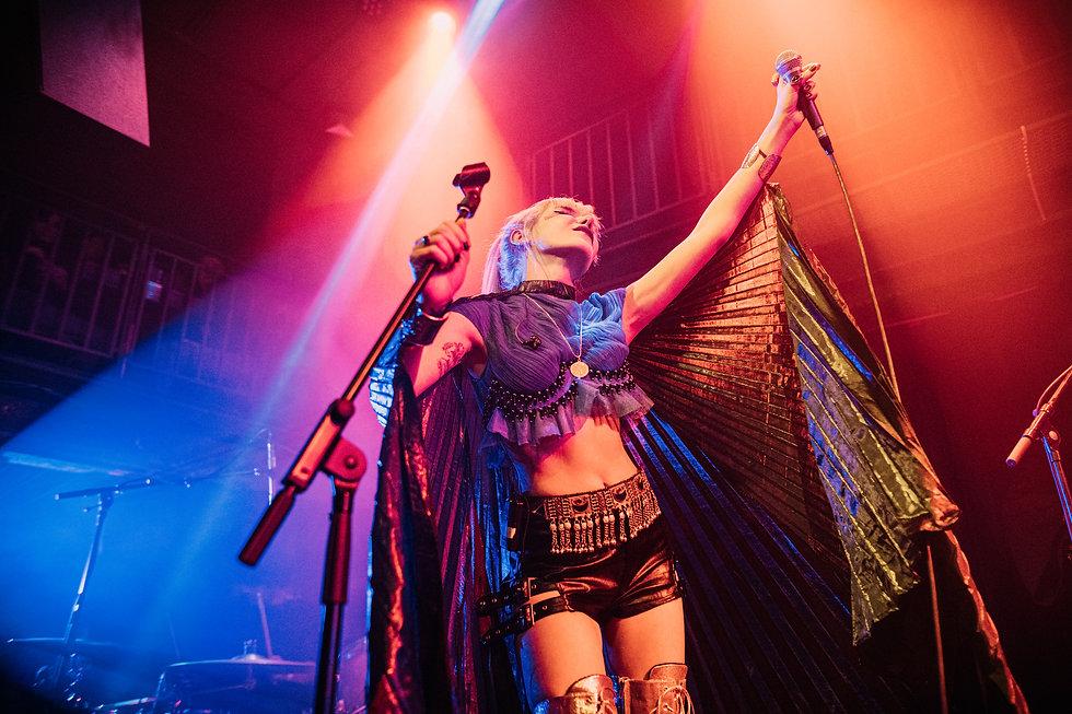 Gaye Su Akyol At Jazz Cafe, Camden, London. Events, Live Music, Music Photography. Photo taken by Rob Jones @hirobjones