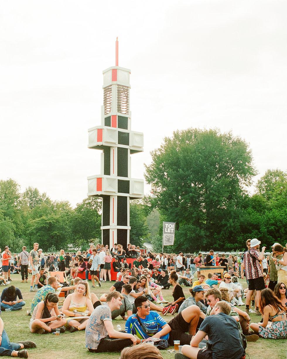 Main stage area At Dekmantel Festival. Events, Festival Amsterdam, Music Photography. Photo taken by Rob Jones @hirobjones