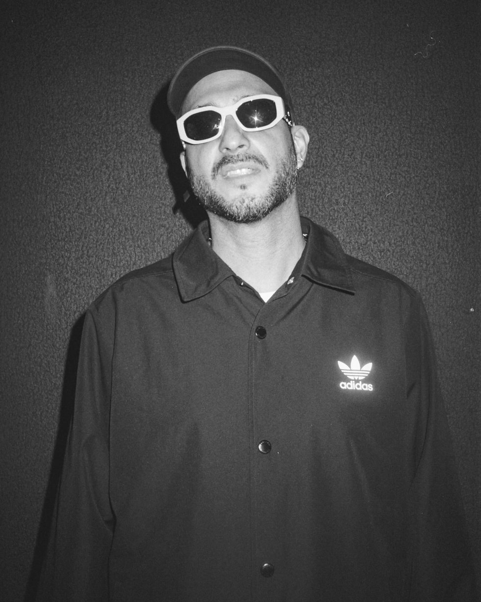 Loco Dice DJ At Warehouse Project Depot Mayfield Manchester. Events, Music Photography. Photo taken by Rob Jones @hirobjones on 35mm film