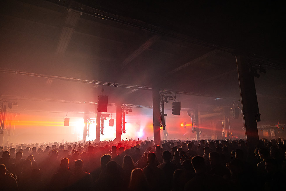 Apple Behind The Mac by Rob Jones photographer @hirobjones Floating Points Warehouse Project Manchester