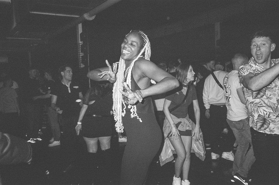 Crowd At Printworks London. Events, Music Photography. Photo taken by Rob Jones @hirobjones 35mm film