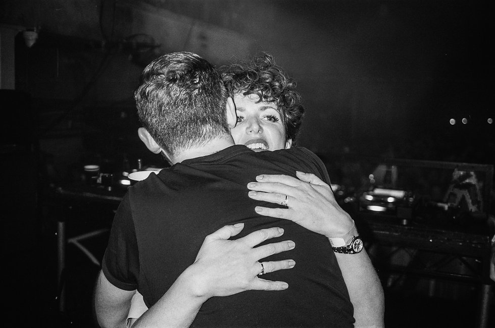 Annie Mac and Disclosure At Printworks London. Events, Music Photography. Photo taken by Rob Jones @hirobjones 35mm film