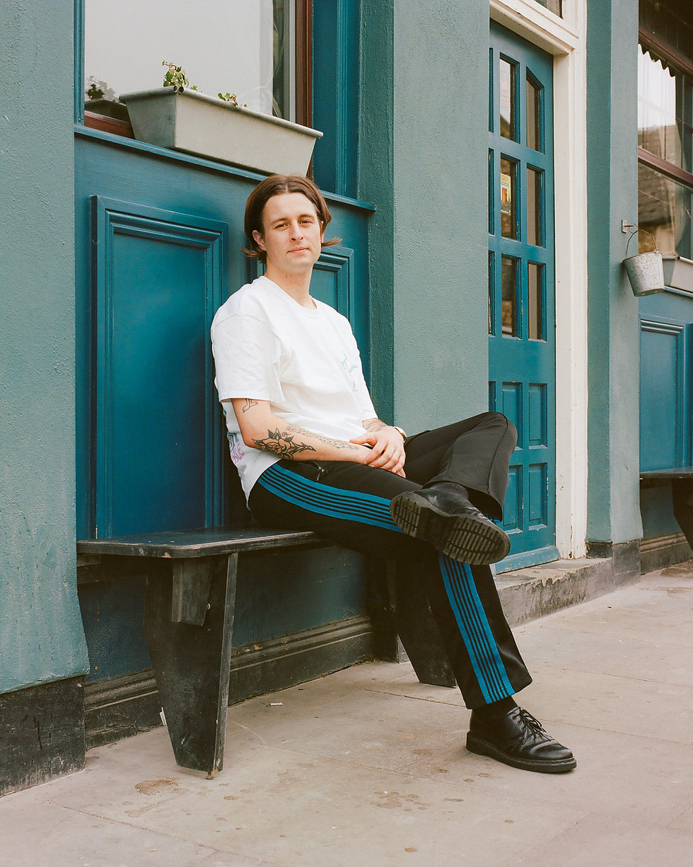 Mall Grab Jordon Alexander for Mixmag Steeze in Dalston. Commercial Photography. Photo taken by Rob Jones @hirobjones
