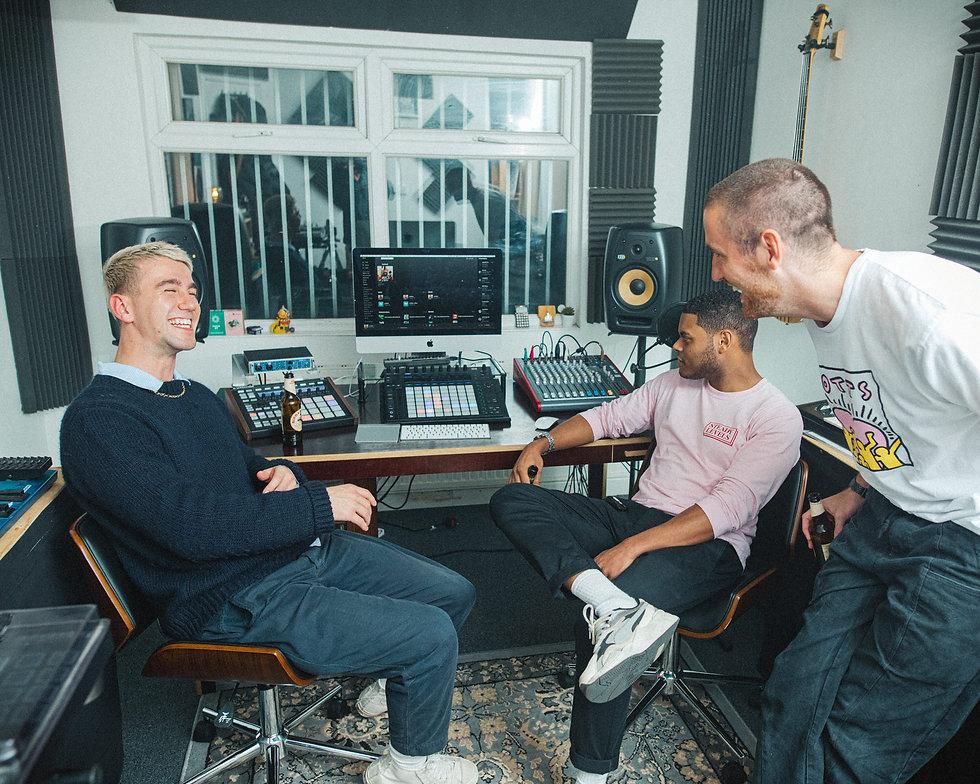 SG Lewis & Kassian DJ London Portrait Photography. Photo taken by Rob Jones @hirobjones
