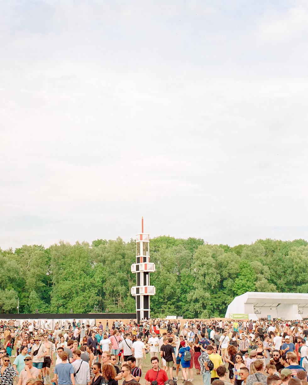 Main stage At Dekmantel Festival. Events, Festival Amsterdam, Music Photography. Photo taken by Rob Jones @hirobjones