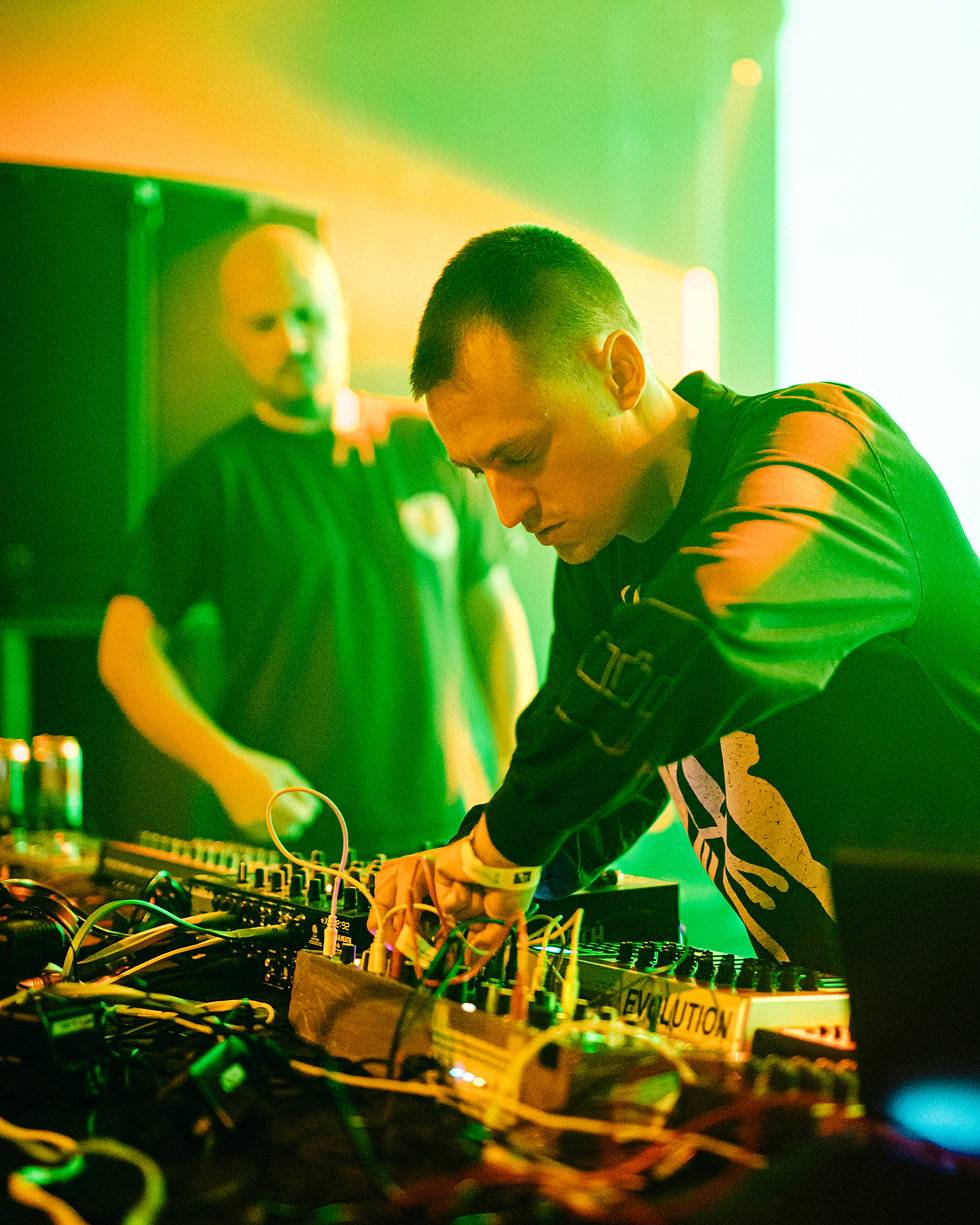 Overmono at Warehouse Project Depot Mayfield Manchester. Events, Music Photography. Photo taken by Rob Jones @hirobjones