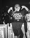 Honey Dijon DJ At Warehouse Project Depot Mayfield Manchester. Events, Music Photography. Photo taken by Rob Jones @hirobjones on 35mm film