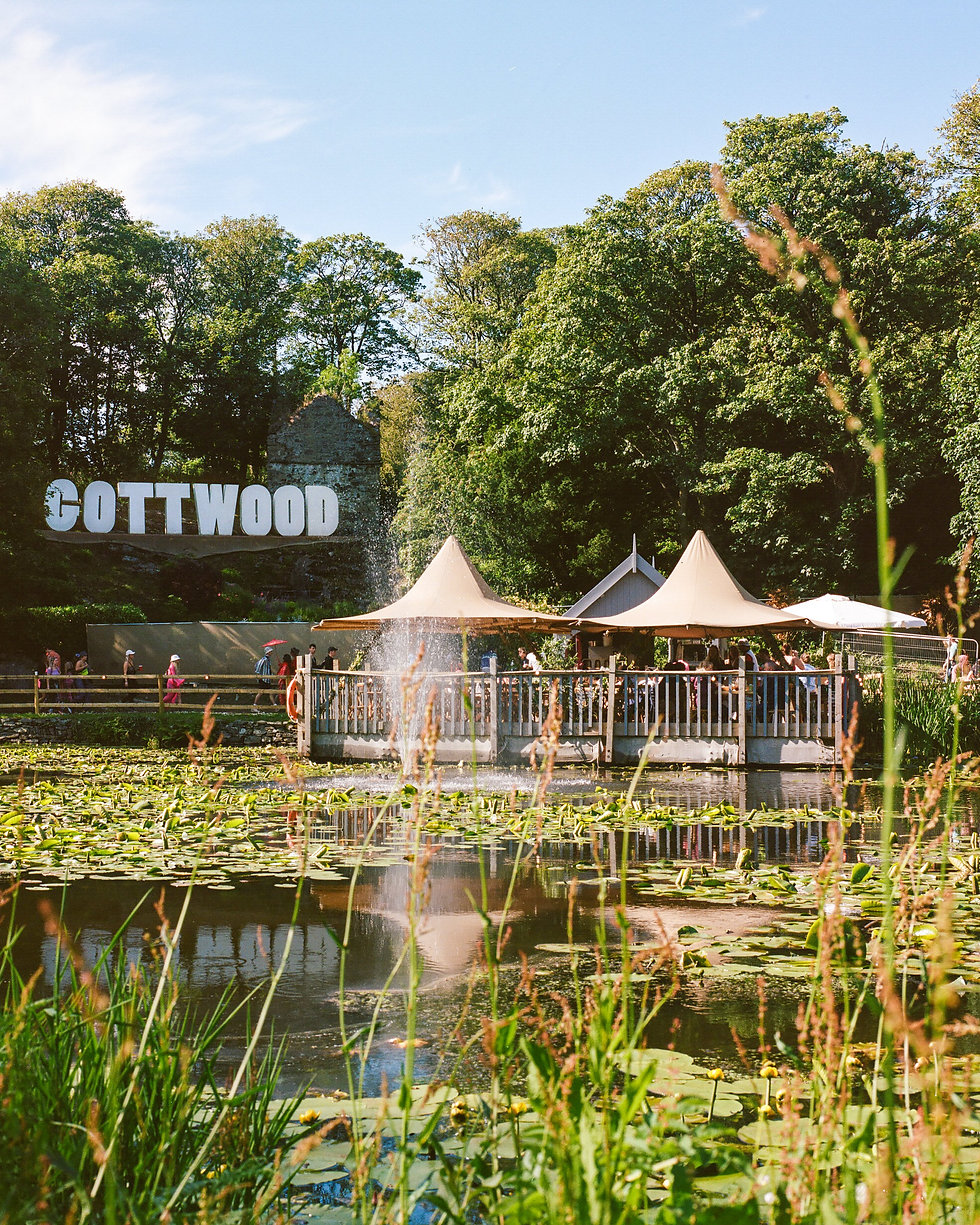 The floating restaurant At Gottwood Festival. Events, Festival Anglesey, Music Photography. Photo taken by Rob Jones @hirobjones