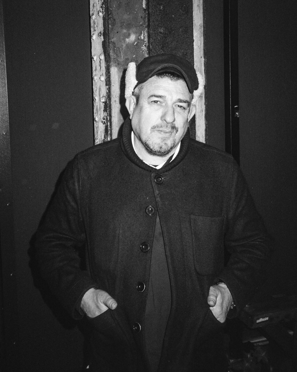 Luke Una Luke Unabomber Homoelecric Homobloc DJ At Warehouse Project Depot Mayfield Manchester. Events, Music Photography. Photo taken by Rob Jones @hirobjones on 35mm film