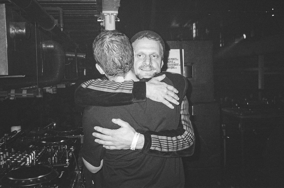 DJ Koze and Floating Points At Printworks London. Events, Music Photography. Photo taken by Rob Jones @hirobjones 35mm film