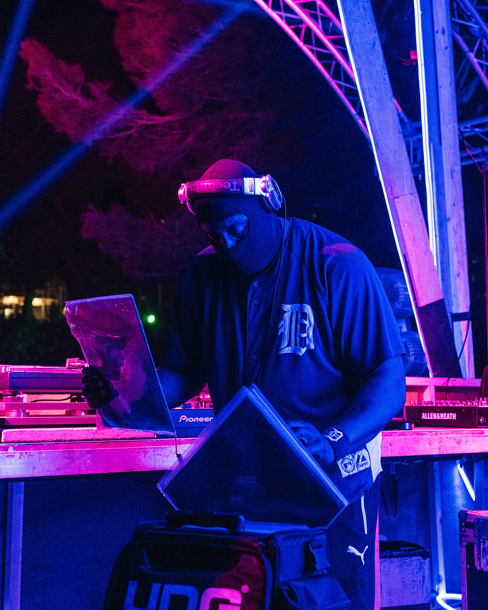 Fort Punta Christo DJ Stingray on the Void stage At Dimensions & Outlook Festival. Events, Festival Pula, Croatia, Music Photography. Photo taken by Rob Jones @hirobjones