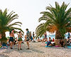 Fort Punta Christo Crowds on the beach At Dimensions & Outlook Festival. Events, Festival Pula, Croatia, Music Photography. Photo taken by Rob Jones @hirobjones