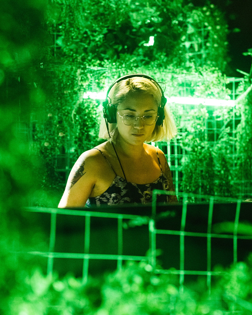 Fort Punta Christo Peach on the Garden stage At Dimensions & Outlook Festival. Events, Festival Pula, Croatia, Music Photography. Photo taken by Rob Jones @hirobjones