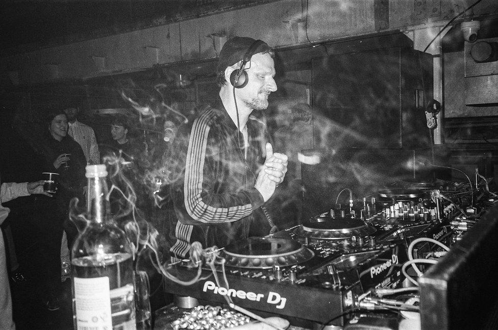 DJ Koze At Printworks London. Events, Music Photography. Photo taken by Rob Jones @hirobjones