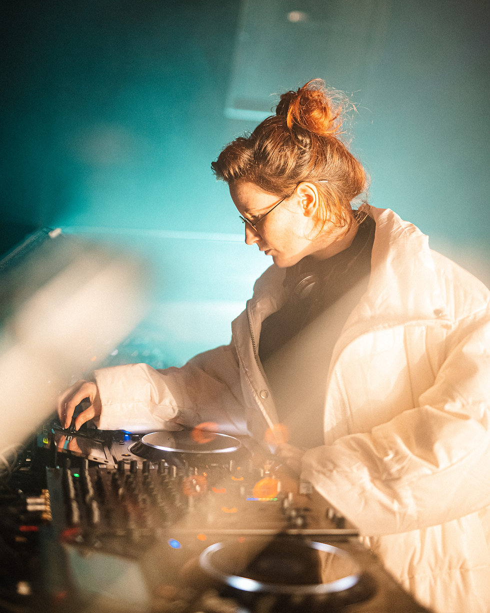 Saoirse at Warehouse Project Depot Mayfield Manchester. Events, Music Photography. Photo taken by Rob Jones @hirobjones