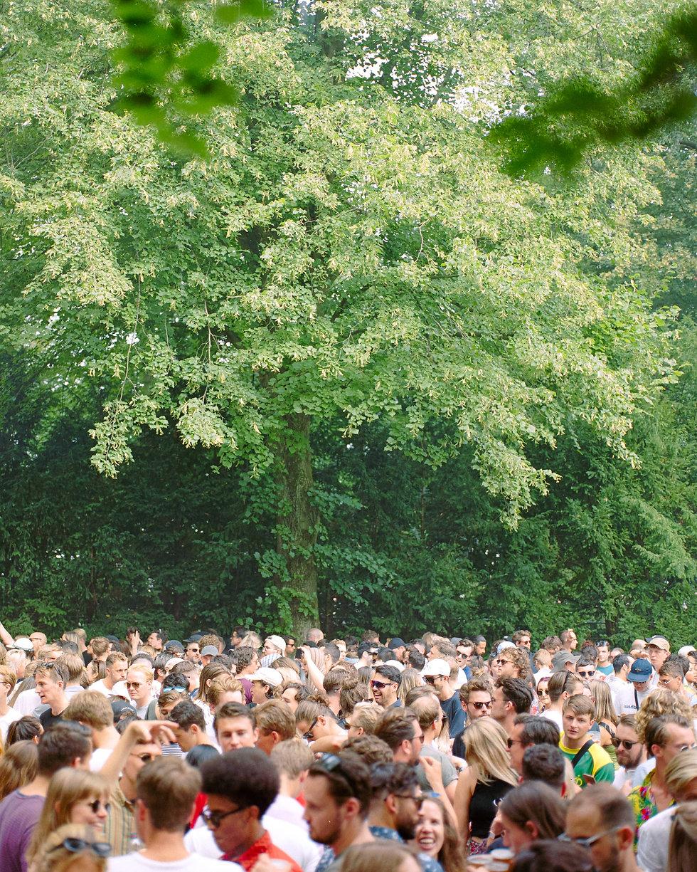 Crowd at Selectors stage At Dekmantel Festival. Events, Festival Amsterdam, Music Photography. Photo taken by Rob Jones @hirobjones