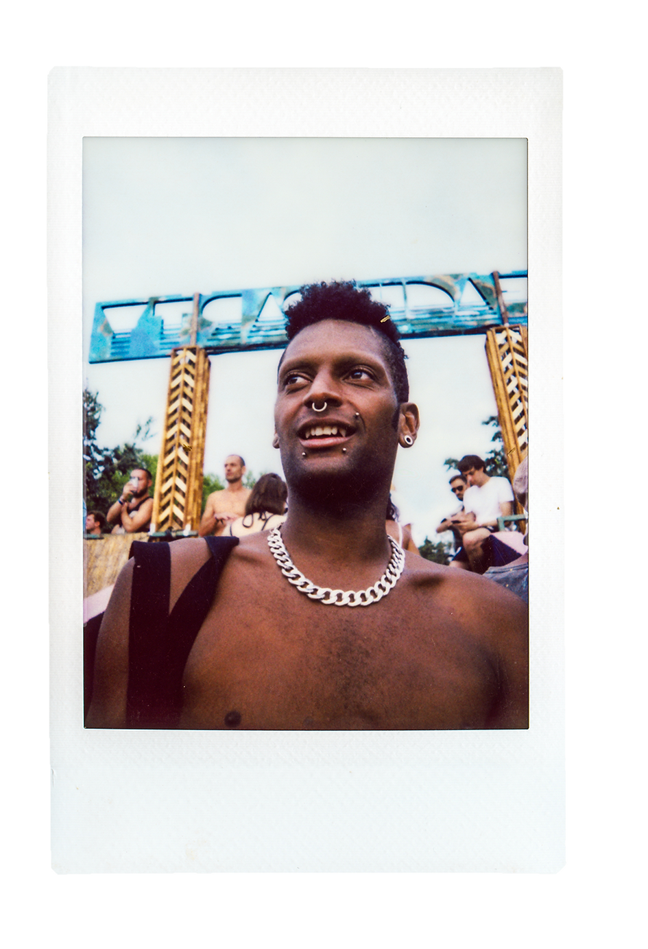 Outlook & Dimensions Festival, Croatia. Polaroid Originals Photography. Photo taken by Rob Jones @hirobjones