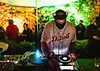 DJ Stingray on the Walled Garden stage At Gottwood Festival. Events, Festival Anglesey, Music Photography. Photo taken by Rob Jones @hirobjones