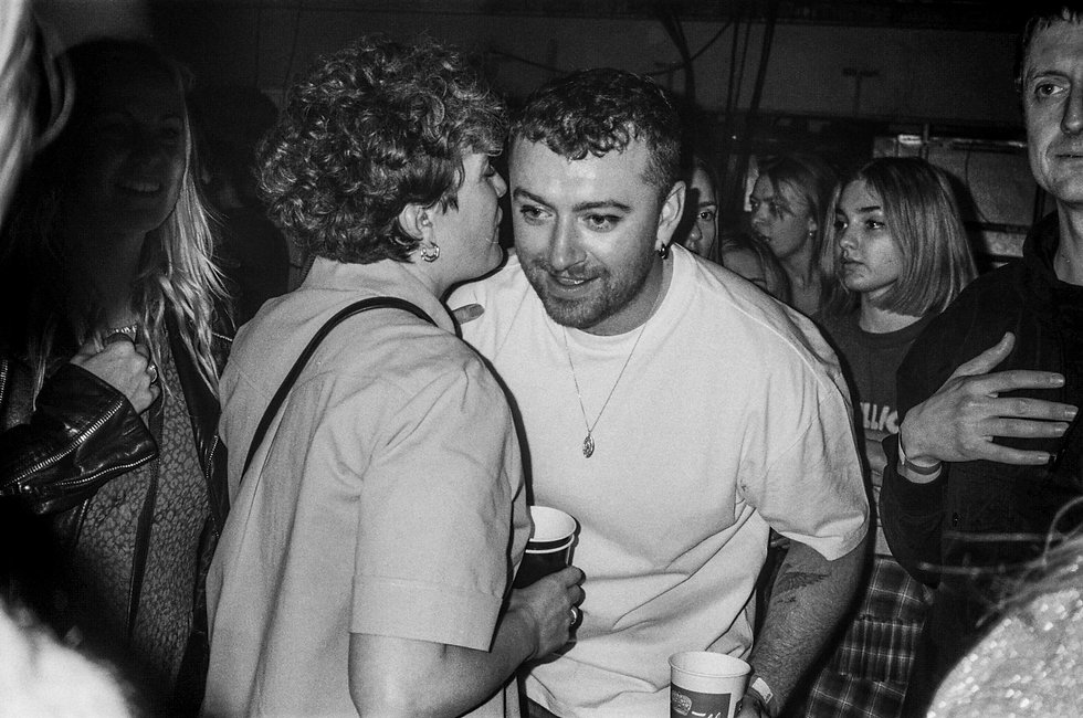 Annie Mac and Sam Smith At Printworks London. Events, Music Photography. Photo taken by Rob Jones @hirobjones