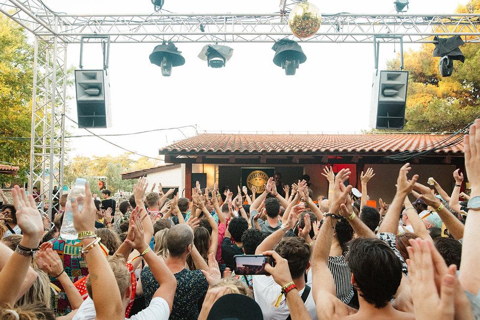 DJ Harvey at Barbarellas Discotheque At Love International Festival. Events, Festival Tisno, Music Photography. Photo taken by Rob Jones @hirobjones