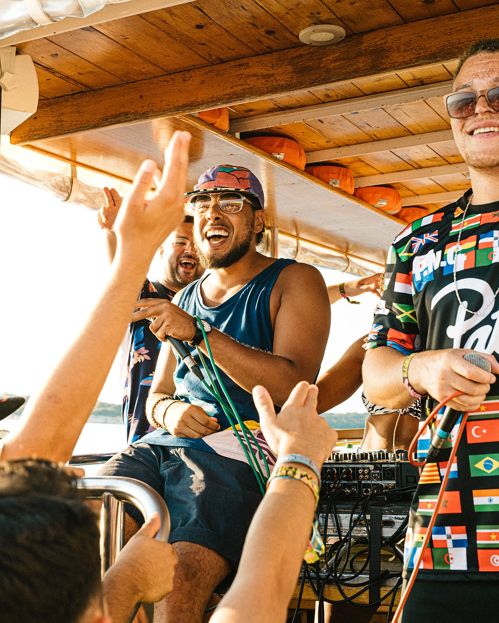Fort Punta Christo Children Of Zeus boat party At Dimensions & Outlook Festival. Events, Festival Pula, Croatia, Music Photography. Photo taken by Rob Jones @hirobjones