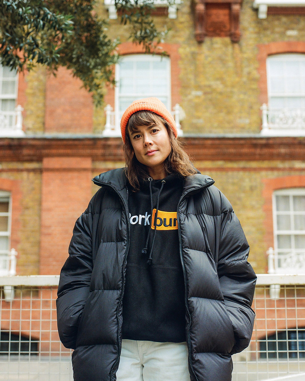 Louise Chen in Soho London for Mixmag Steeze. Commercial Photography. Photo taken by Rob Jones @hirobjones