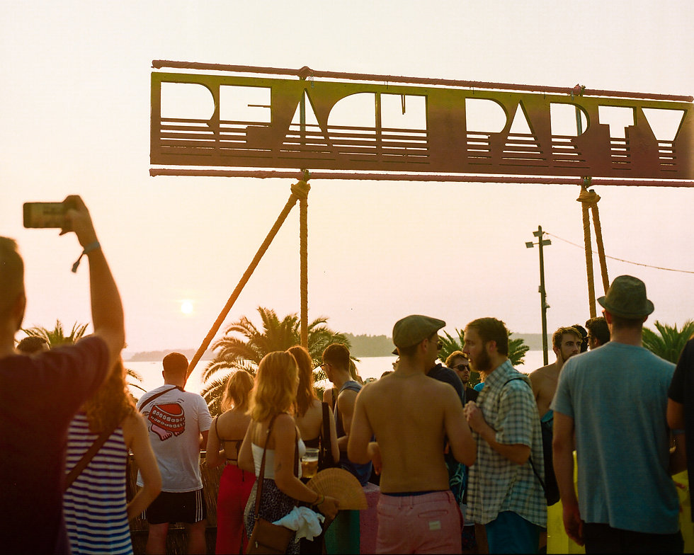 Fort Punta Christo Beach stage At Dimensions & Outlook Festival. Events, Festival Pula, Croatia, Music Photography. Photo taken by Rob Jones @hirobjones