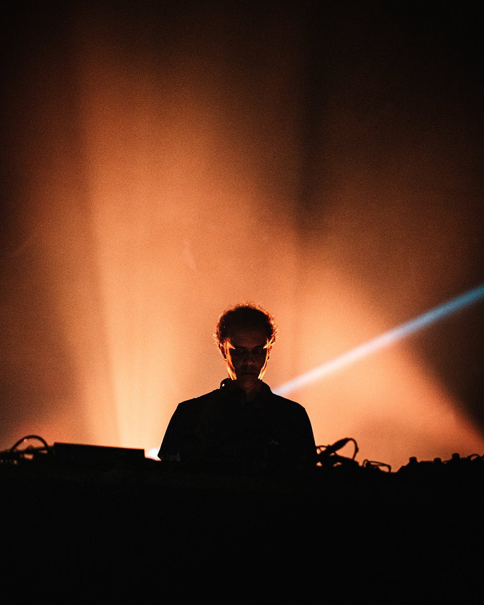 Four Tet at Warehouse Project Depot Mayfield Manchester. Events, Music Photography. Photo taken by Rob Jones @hirobjones