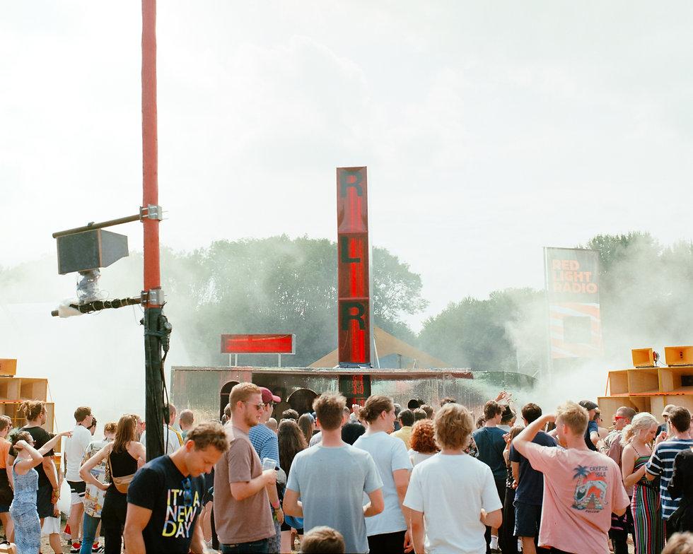 Red Light Radio stage At Dekmantel Festival. Events, Festival Amsterdam, Music Photography. Photo taken by Rob Jones @hirobjones