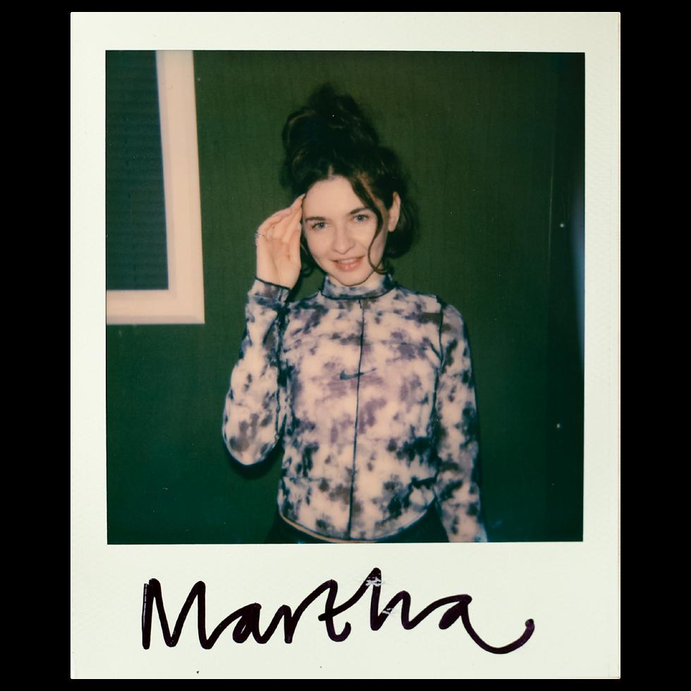 Martha Polaroid Polaroid at Warehouse Project Depot Mayfield Manchester. Events, Music Photography. Photo taken by Rob Jones @hirobjones