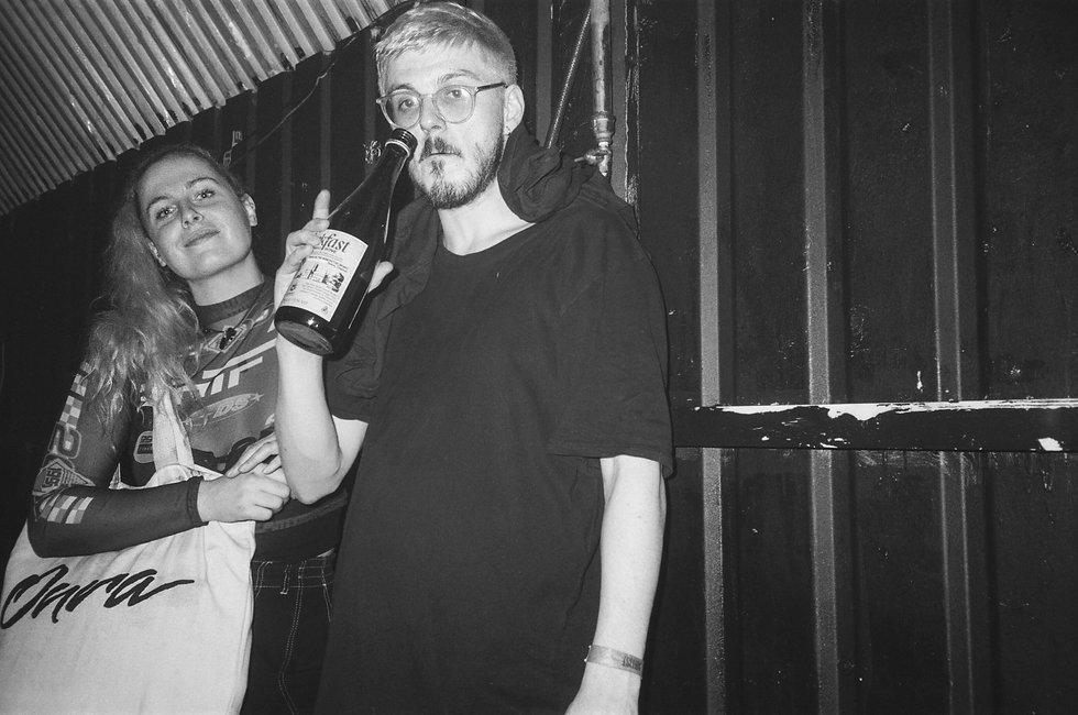 Sally C & Crombie At UNIT B1, London. Events, Live Music, underground rave, party, Music Photography. Photo taken by Rob Jones @hirobjones