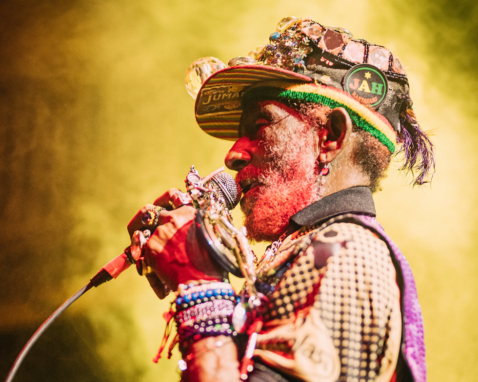 Lee 'Scratch' Perry performing at the Jazz Cafe in Camden London. Photo taken by Rob Jones @hirobjones