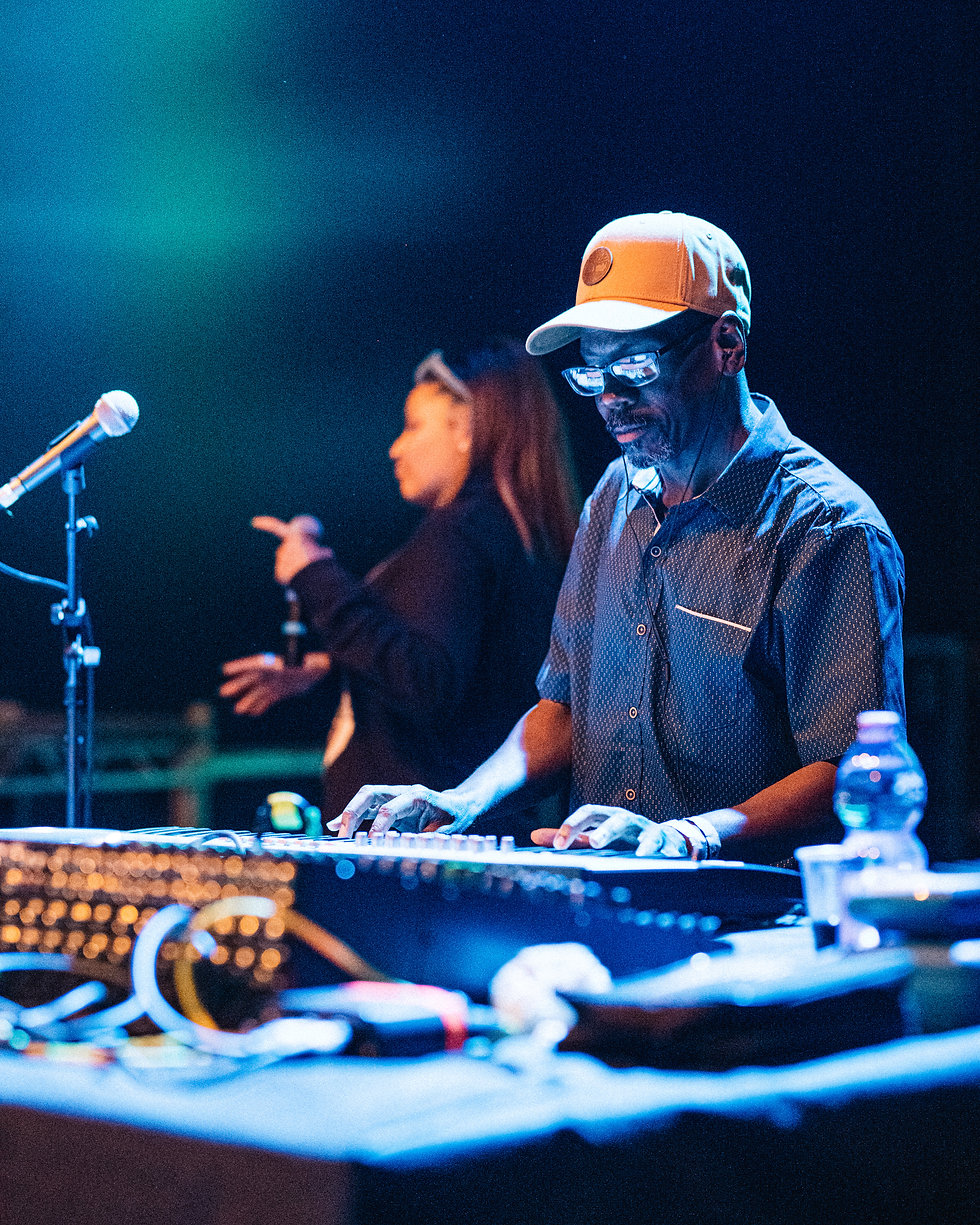 Fort Punta Christo Larry Heard on the Clearing stage At Dimensions & Outlook Festival. Events, Festival Pula, Croatia, Music Photography. Photo taken by Rob Jones @hirobjones