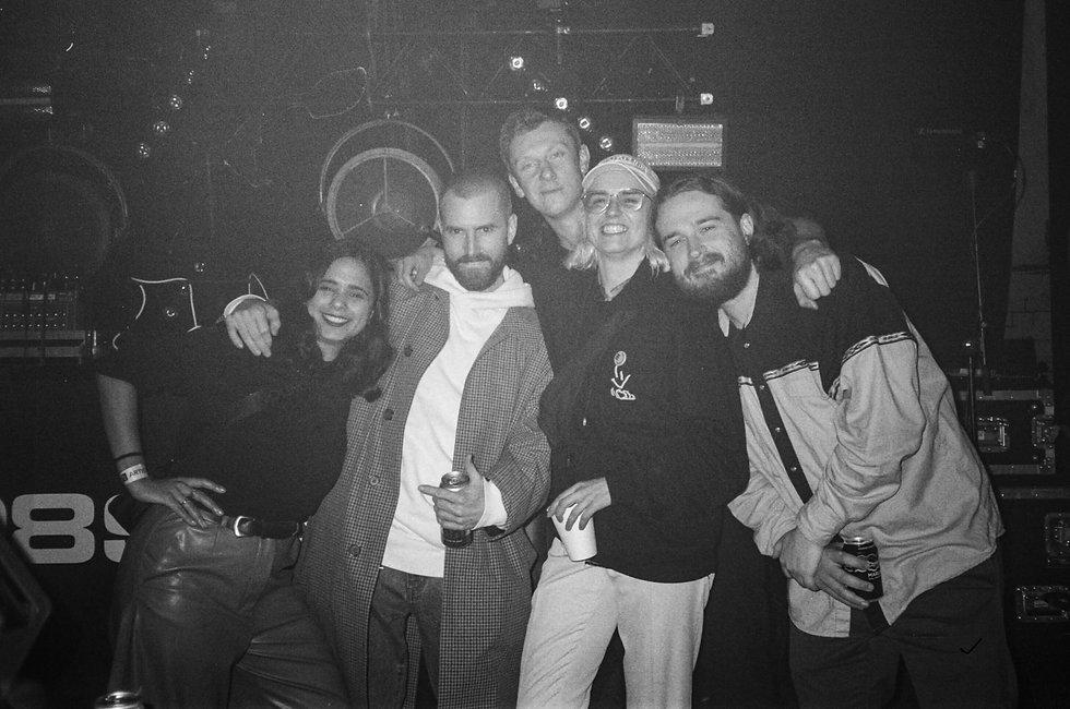 Bicep Mor Elian Brame & Hamo HAAi DJ At Warehouse Project Depot Mayfield Manchester. Events, Music Photography. Photo taken by Rob Jones @hirobjones on 35mm film