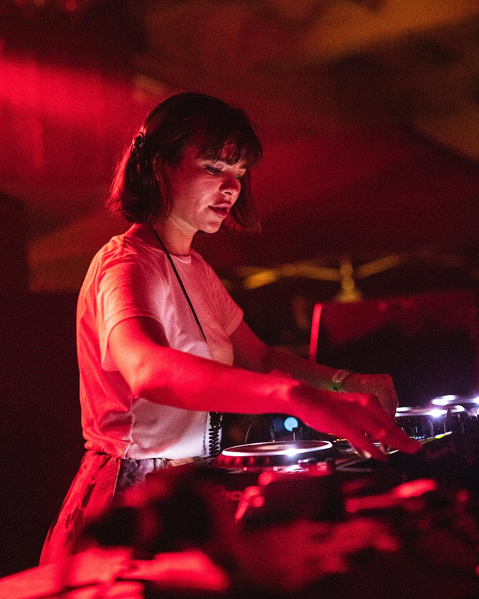 Nina Kraviz at Warehouse Project Depot Mayfield Manchester. Events, Music Photography. Photo taken by Rob Jones @hirobjones