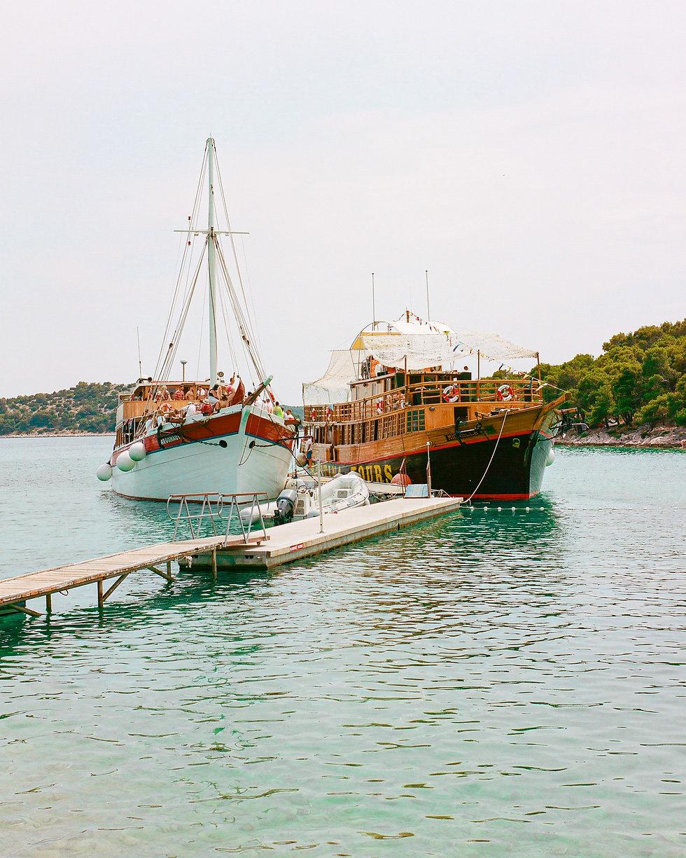 Boats At Love International Festival. Events, Festival Tisno, Music Photography. Photo taken by Rob Jones @hirobjones
